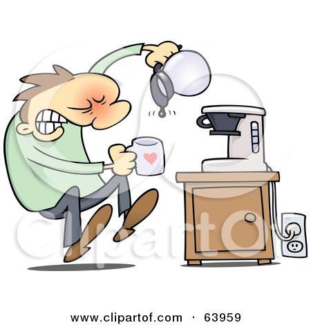 Clip Art Empty Coffee Carafe Clipart.