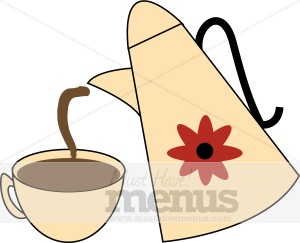Coffee Carafe Clip Art.