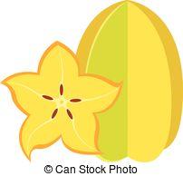 Starfruit Vector Clipart Royalty Free. 137 Starfruit clip art.
