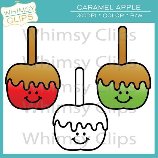 Free Caramel Apple Clip Art , Images & Illustrations.