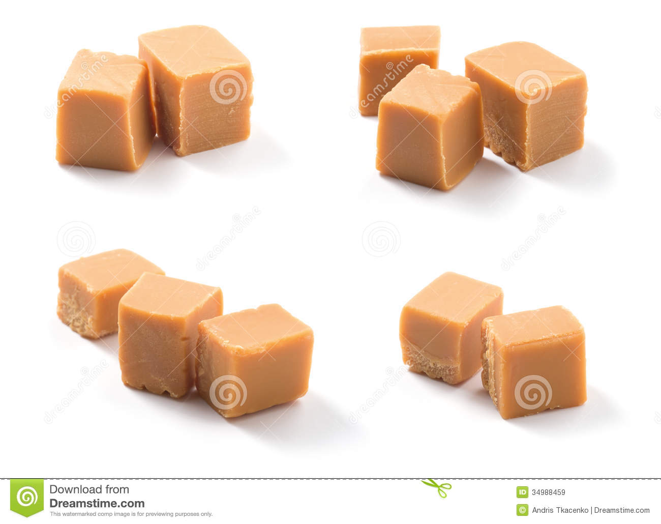 Fudge And Caramel Clipart.