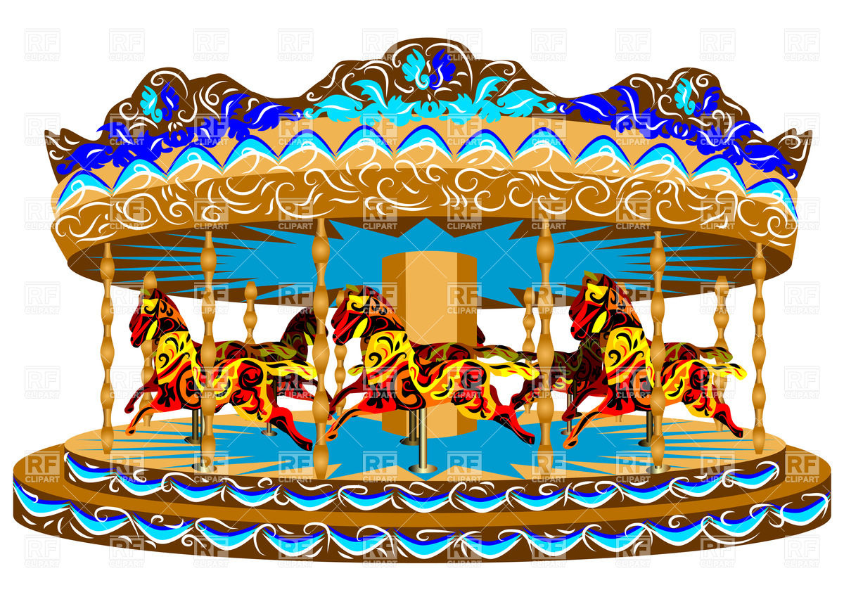Carousel clipart 2 » Clipart Station.