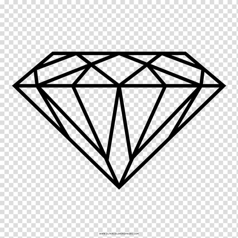 Drawing Diamond Carat Jewellery, diamond transparent.