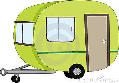 Caravan Cartoon Stock Illustrations.