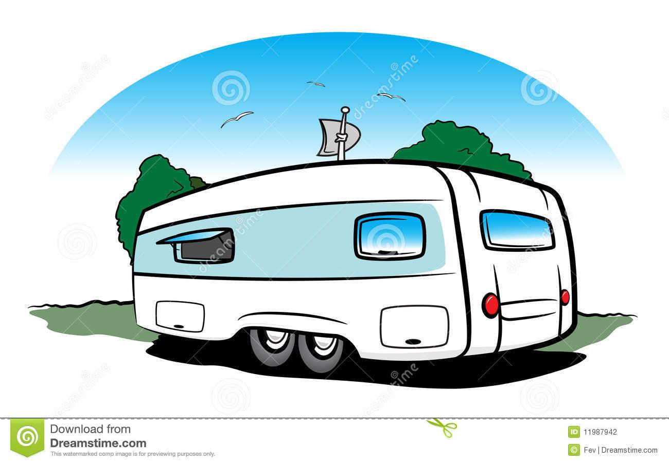 Caravan Stock Illustrations.