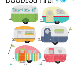 Clip art caravans.