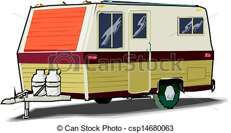 Caravan Clip Art.