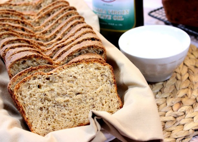 Wheat Caraway Cheese Batter Bread.