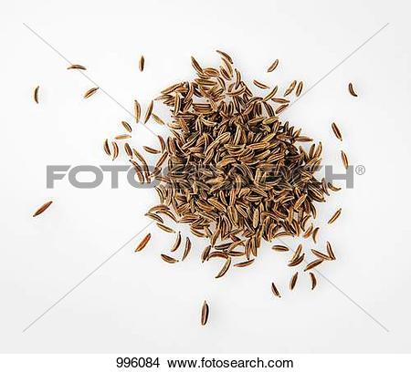 Stock Photo of Caraway seeds (unground) 996084.