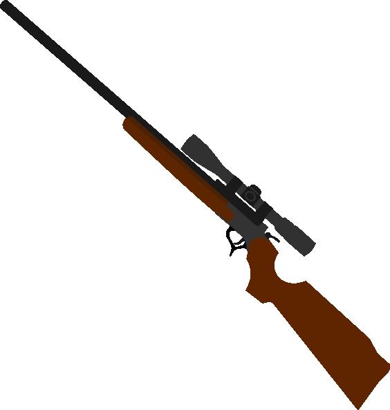 Rifle Clipart.