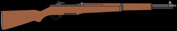 Rifles Clip Art.