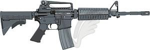 Colt M4 Carbine.