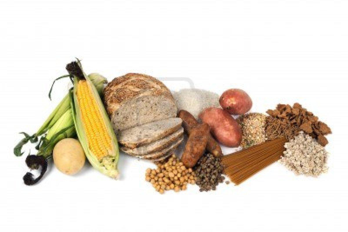 Healthy Sources of Carbs Clip Art.