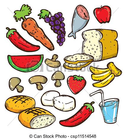 Good Carbohydrates Clip Art.