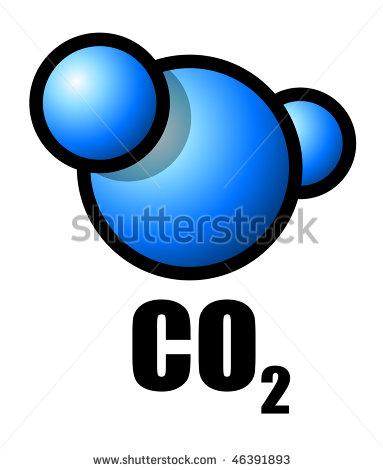 Carbon Dioxide Clipart.