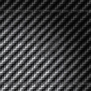 Carbon fiber texture, bound crosswise fibers.