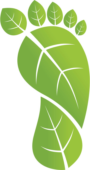 Clipart Carbon Footprint.