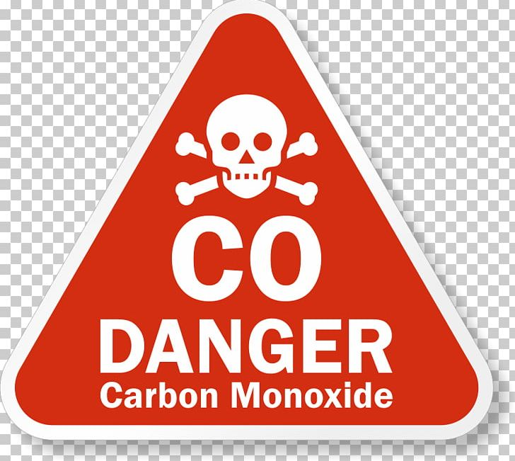 Carbon Monoxide Poisoning High Voltage Signage PNG, Clipart.