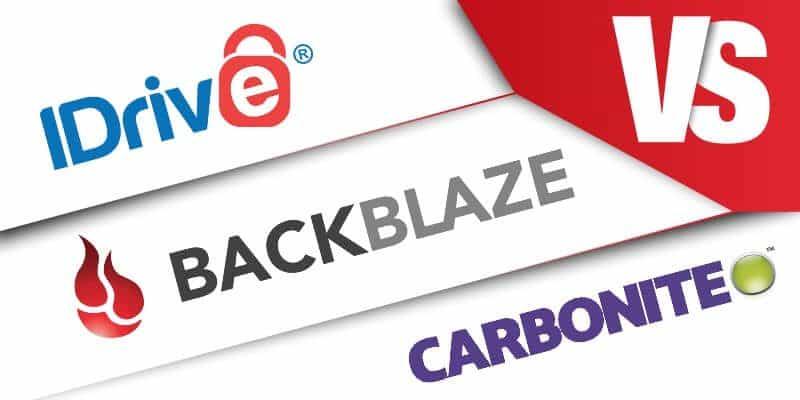 Carbonite vs Backblaze vs IDrive: Finding the Best Backup.