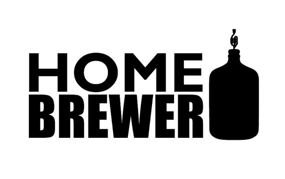 HOME BREWER Vinyl Sticker Decal in BLACK Homebrew Home by umm0000.