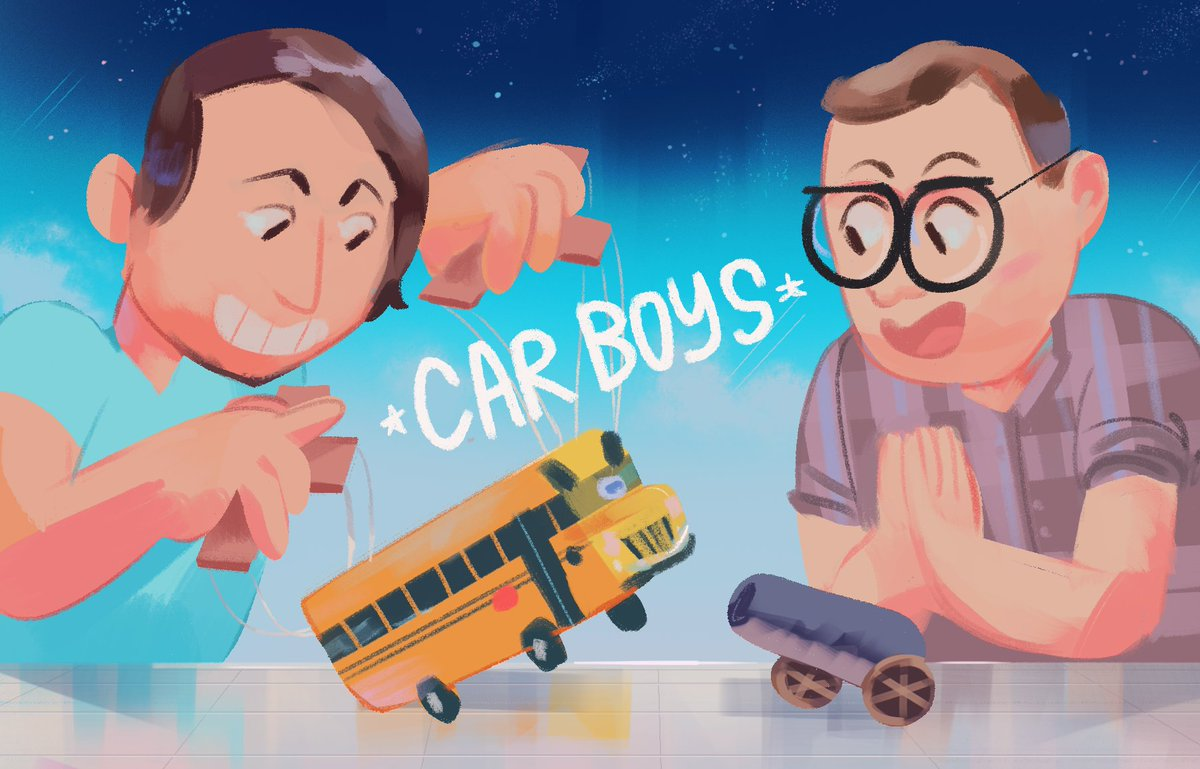 """Louie Zong on Twitter: """"I LOVE ME SOME CAR BOYS (heres some fanart."""