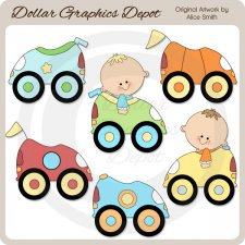 Car / Truck Clip Art : Dollar Graphics Depot.