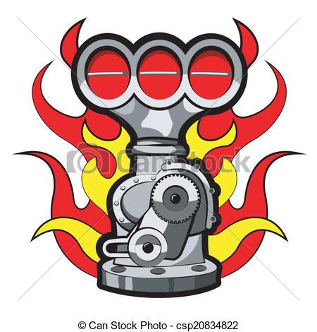 Carburetor Vector Clipart EPS Images. 99 Carburetor clip art.