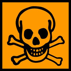 Carcinogen Clipart.