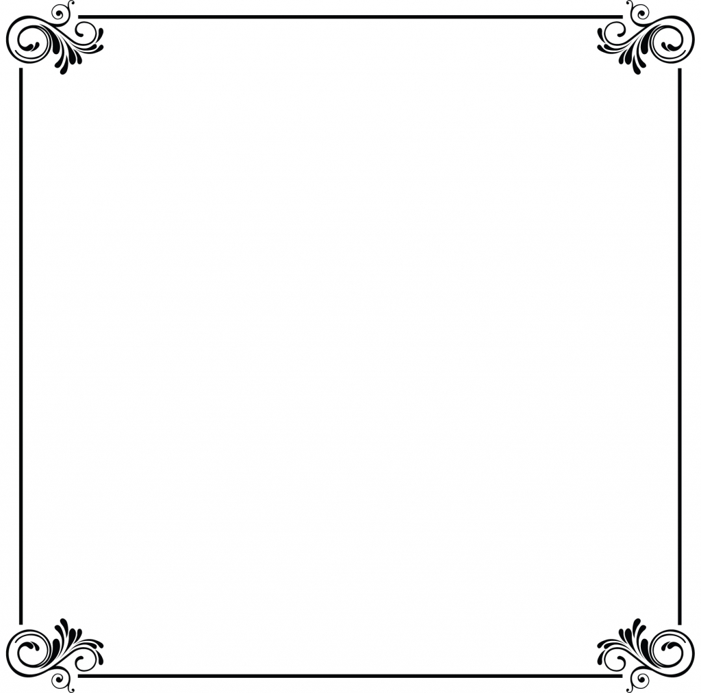 Border Clipart For Marriage Card.