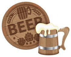 Beer Mug PNG Vector Clipart Imag.