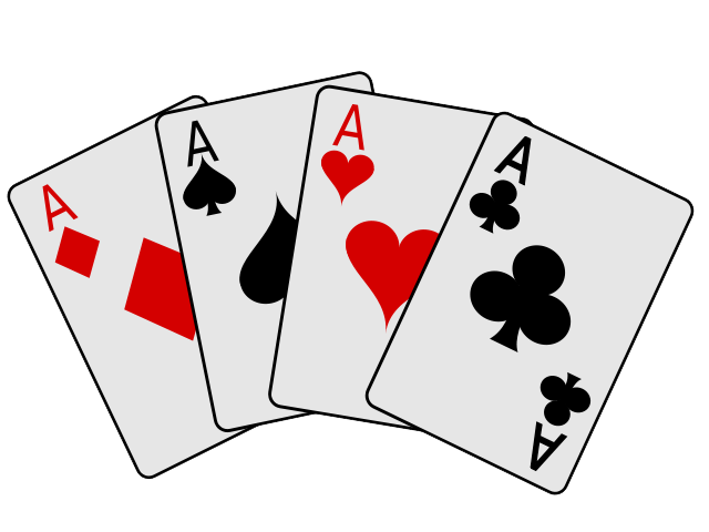 Playing card clip art.