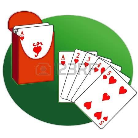 Card deck clipart #4