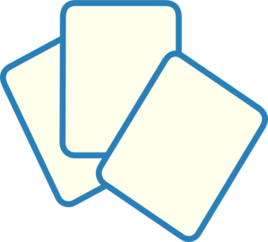 Card deck clipart.