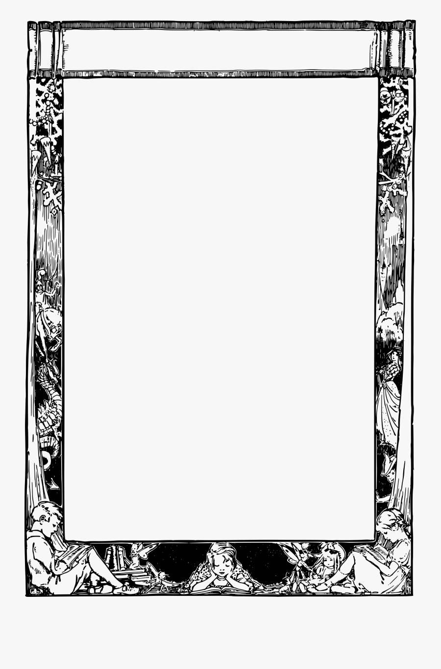 Storybook Frame Clip Arts.
