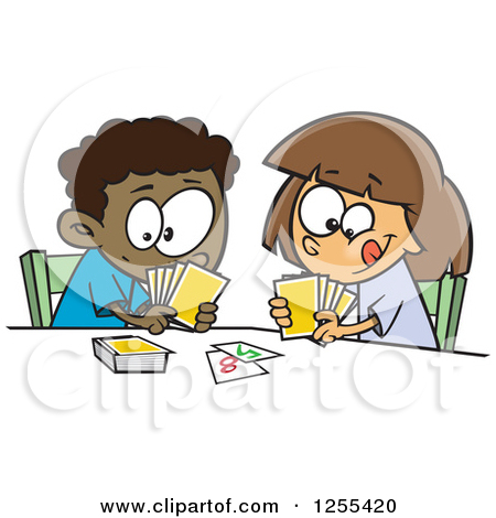 Card game clipart free.