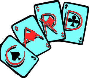 Card game clipart - Clipground