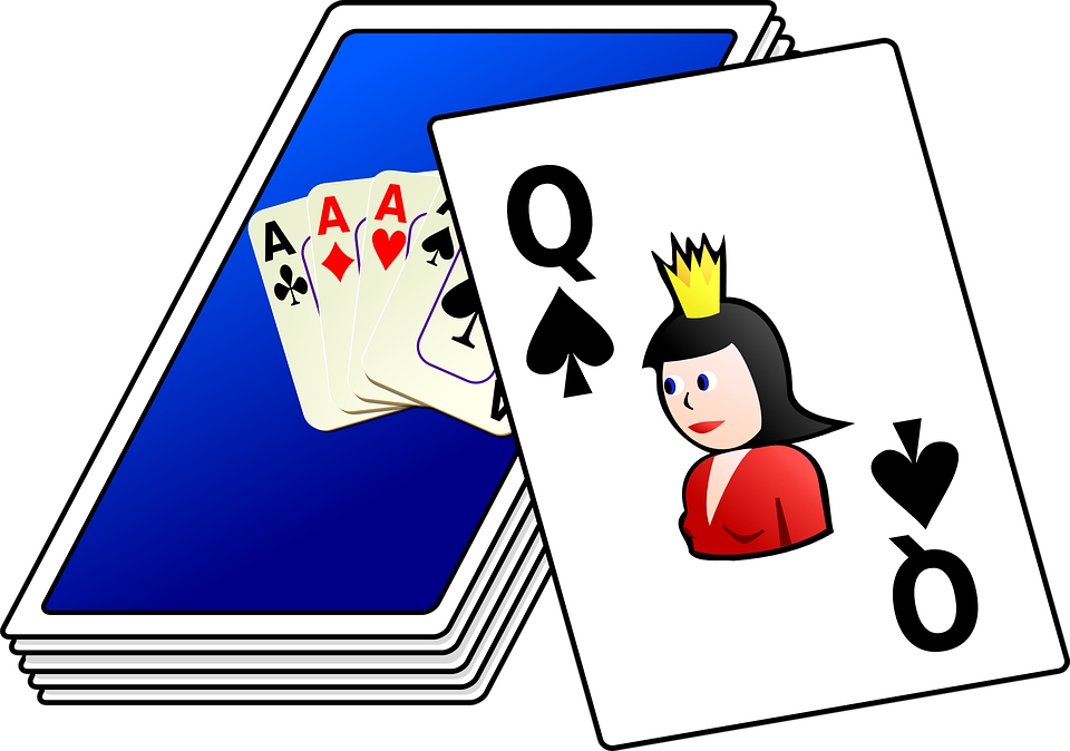 Free vector graphic: Playing, Cards, Deck, Card, Games.