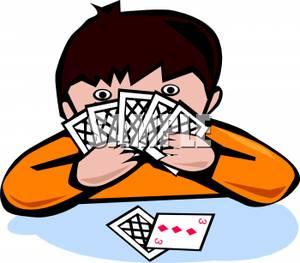 Card Games Clipart.