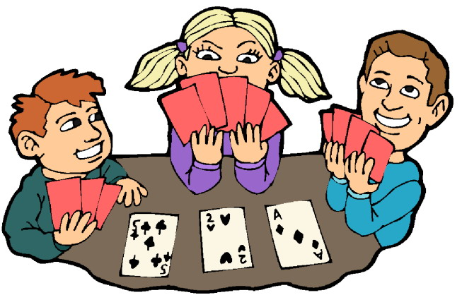 Board And Card Games Clipart.