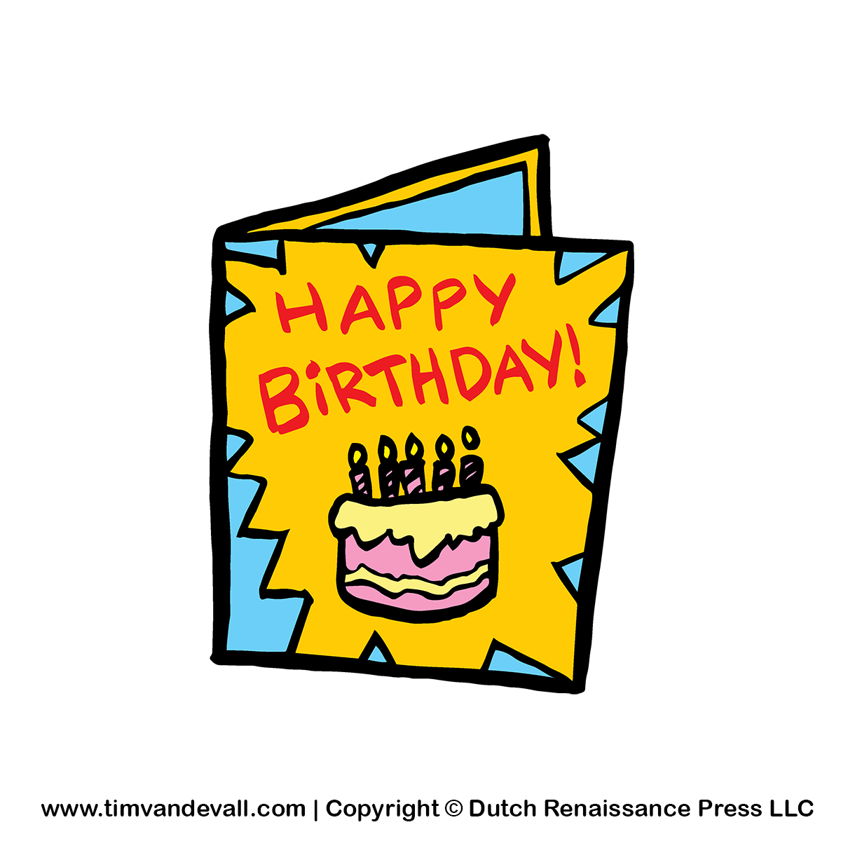 Happy Birthday Cards Clipart.