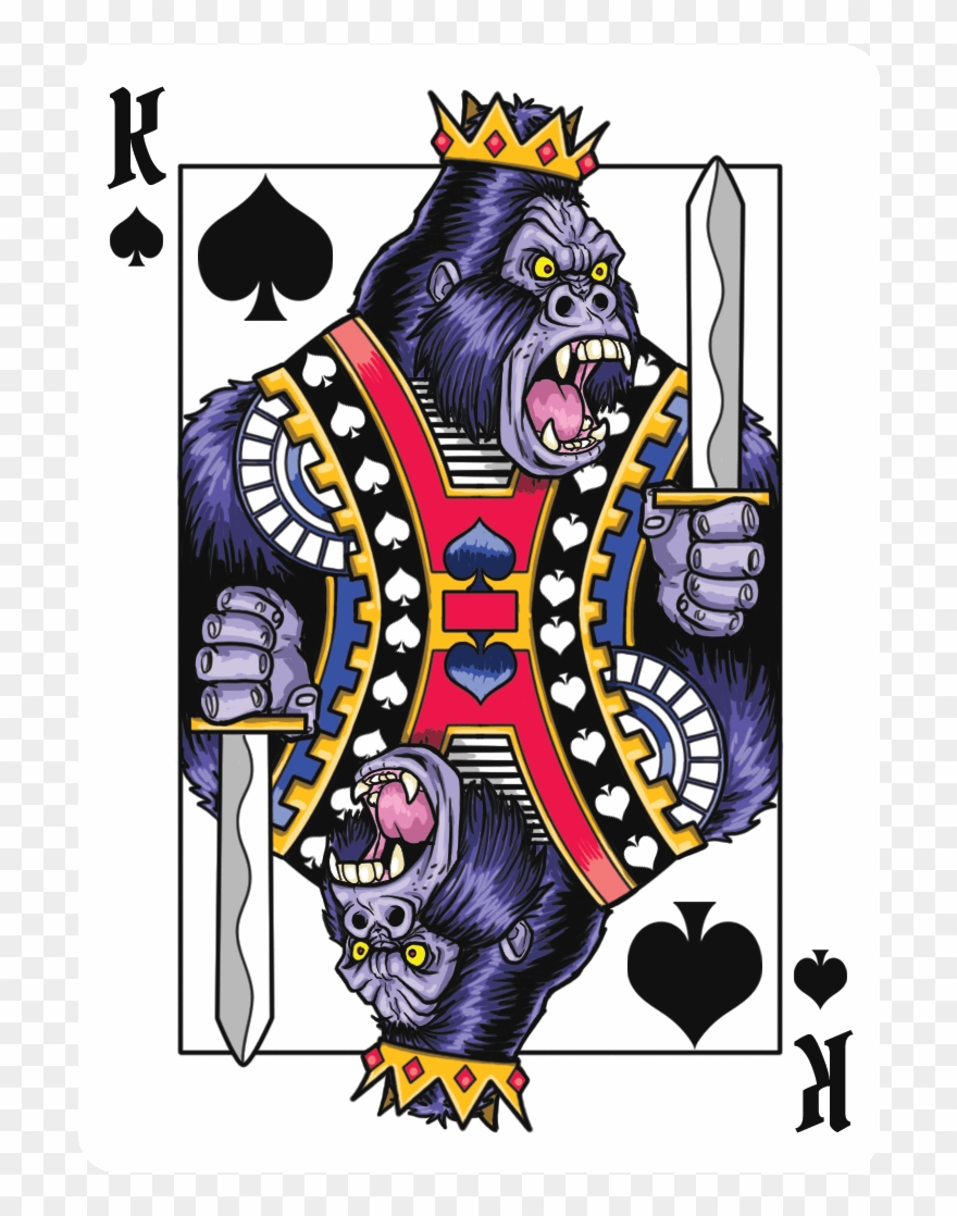Gorilla Deck Playing Cards.