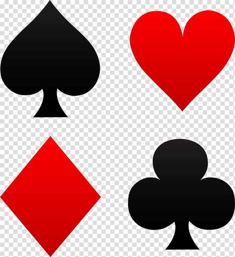 Playing card symbols, Playing card Suit Symbol House of.