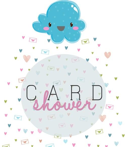 Card Shower Clipart.