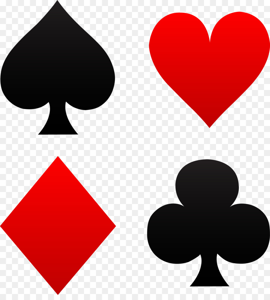 Download Free png Playing card Suit Symbol House of cards Clip art.