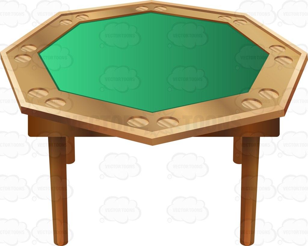 Card Table Clipart.