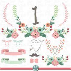 Card table at wedding clipart.
