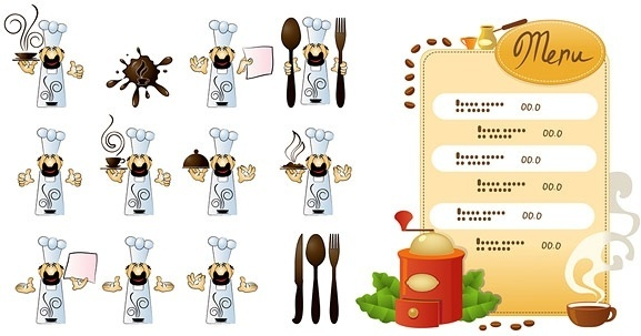 Cafe menu coreldraw free vector download (6,127 Free vector.
