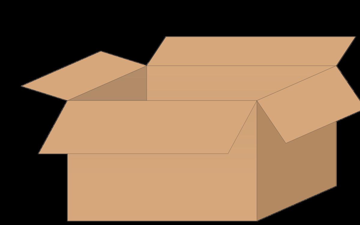 Box,Cardboard,Angle Vector Clipart.