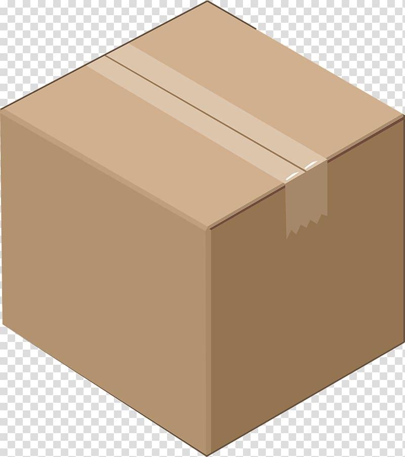 Paper Cardboard box Corrugated fiberboard , box transparent.