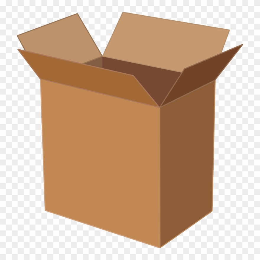 Cardboard Box Paper Packaging And Labeling.
